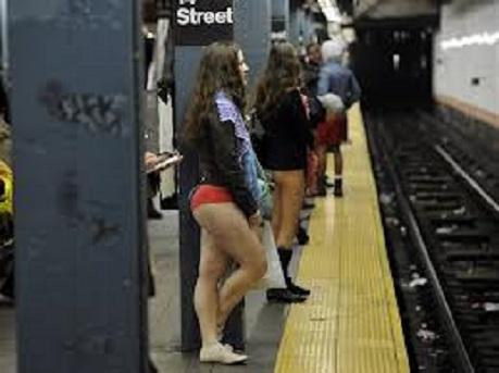 Draguer dans le métro