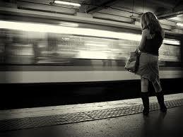 Draguer dans le métro à l'heure de pointe