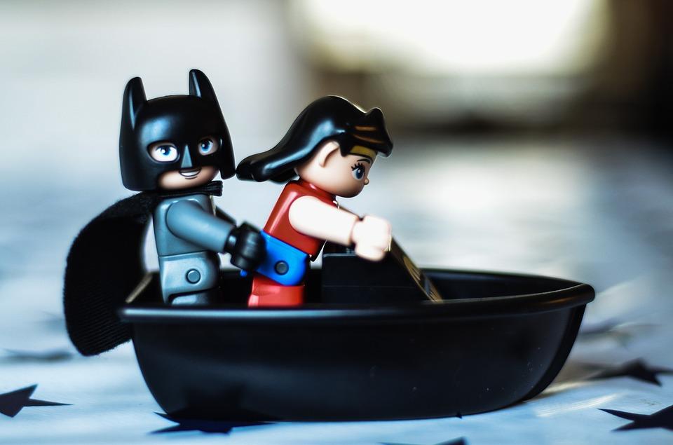 Batman wonderwoman premier rendez-vous