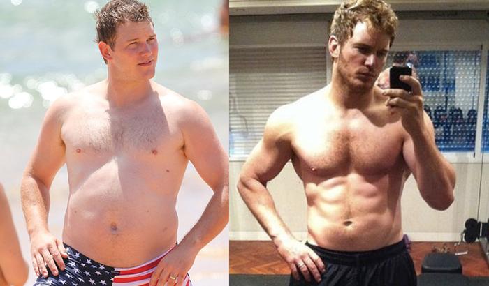 Connent séduire : Chris Pratt avant-après